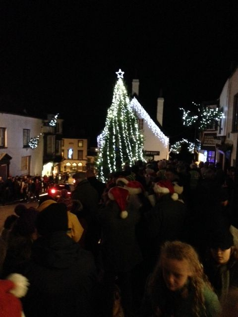 Christmas in Lyme Regis